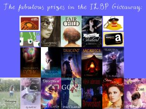 Prizes offered during the Indie Lights Book Parade